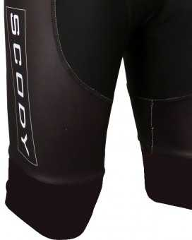 Front wrap bibs with 7cm Silicone Gripper Cuff ]| Men's Cycling