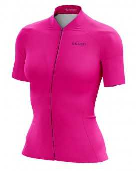 Pure Deep Pink Performance Cycle Jersey